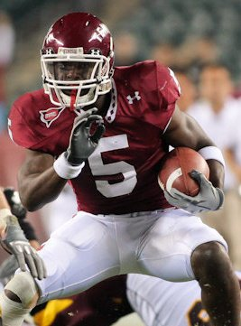 The Philadelphia Eagles Second Round Pick in the 2011 NFL Draft, Jaiquwan Jarrett, Safety, Temple University