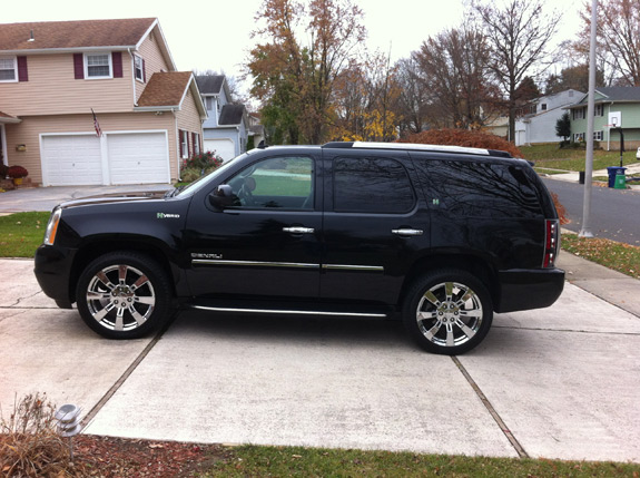 Enter The Gmc Yukon Denali Hybrid