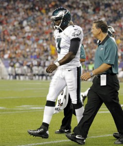 Quick Thoughts on the Eagles vs. Patriots Game and Michael Vick…