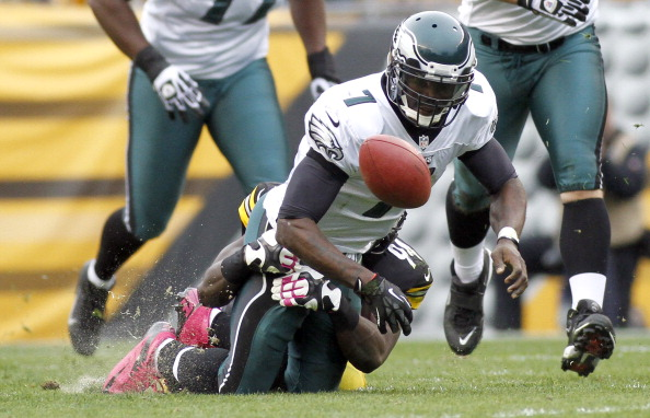 Vick Not Happy with Teammates After a Season of Disaster
