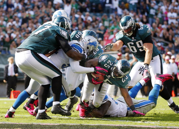 Eagles Blow Late Lead — Again; Fall to Lions 26-23 in OT