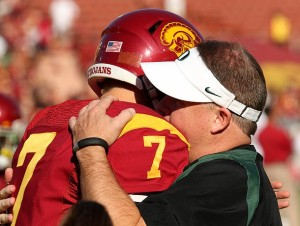 As Pac-12 rivals, Chip Kelly always admired Barkley's competitiveness and poise