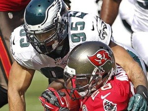 ILB Mychal Kendricks hit a rookie wall last season. Can he rebound in 2013?