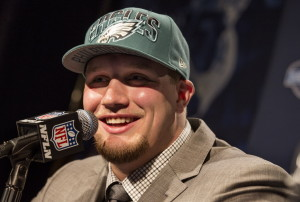 The Eagles are counting on Lane Johnson to live up to his draft status immediately