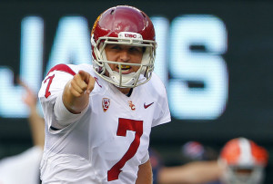 Nobody expected QB Matt Barkley to fall to the 4th round