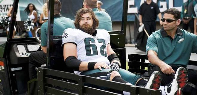 C Jason Kelce is on the verge of returning from a knee injury suffered in September 2012