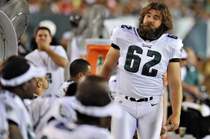 C Jason Kelce's recovery appears to be going smoothly