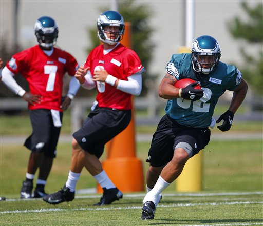 RB Chris Polk could challenge for the #2 RB job with a strong preseason