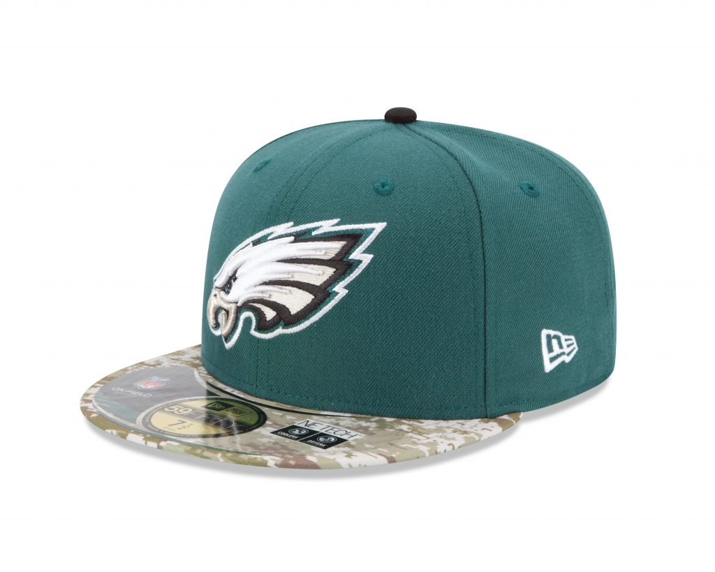"Eagles Fans – Check Out The New ""Salute to Service"" Camouflage …"