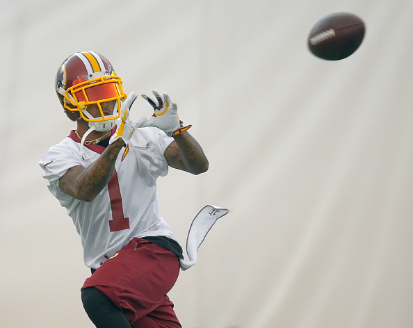 Washington Redskins conduct OTAs