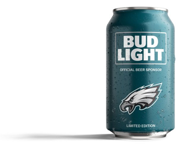 Bud Light Eagles Can