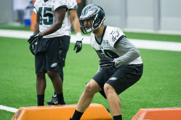 Eagles Lose Rookie Linebacker Joe Walker for the Season With a Torn ACL