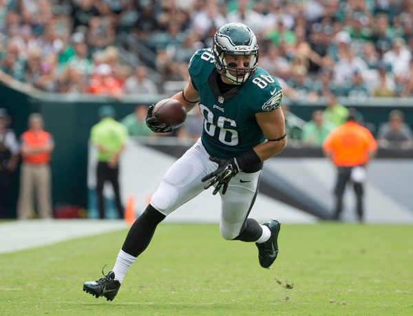 Eagles Announce TE Ertz and CB McKelvin to Miss Sunday's Game vs Steelers