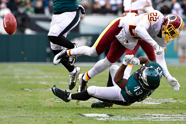 Eagles Lose Big Back and Forth Affair with Redskins 27-22 to Drop to 5-8
